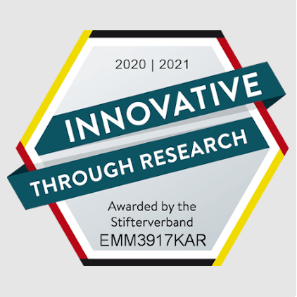 "emmtrix Technologies has been awarded the quality seal ""Innovative Through Research"""