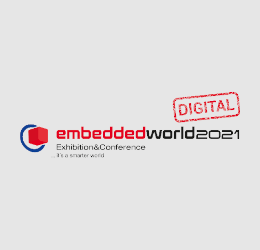 Watch our presentations from embedded world 2021 online until June 30, 2021